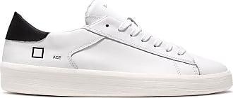 D.A.T.E. ace calf white-black