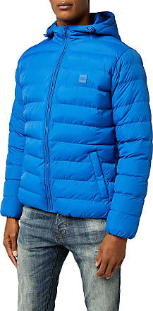 Urban Classics Mens Basic Bubble Jacket, Royal, S