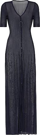Jacquemus sheer maxi cardigan - Blue