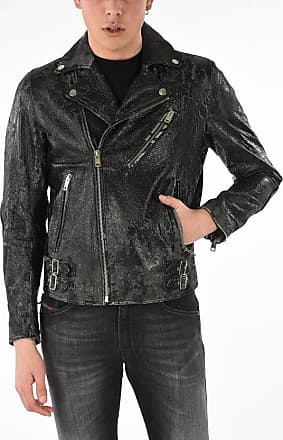 Diesel Leather Vintage Effect L-KRAMPIS-A Jacket Größe Xl