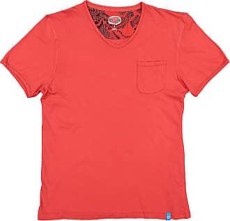 Panareha MOJITO v-neck t-shirt light red