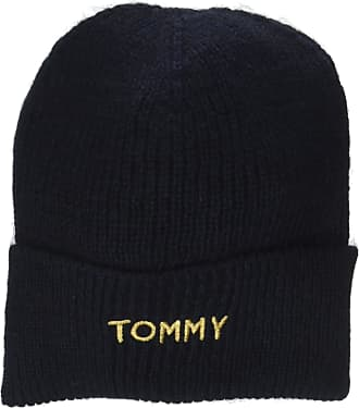 a79d0998 Tommy Hilfiger Womens Effortless Knit Beanie, Blue (Tommy Navy 413), One  size