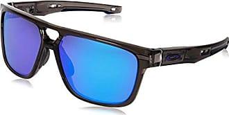 03a0245c98 Oakley Crossrange Patch 938202 60 Gafas de sol, Gris (Grey Smoke), Hombre