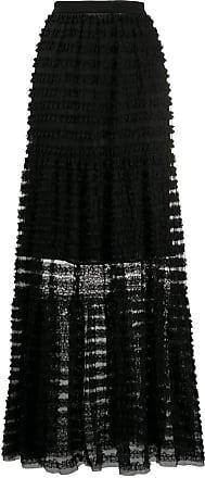 Philosophy di Lorenzo Serafini striped sheer skirt - Black