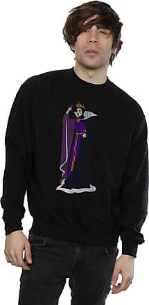 Disney Mens Snow White Classic Evil Queen Grimhilde Sweatshirt Small Black