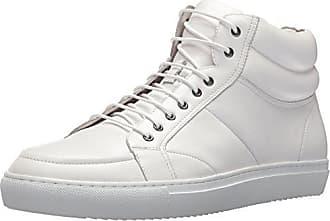 Zanzara Zanzara Mens Clef Fashion Sneaker, White, 9.5 US