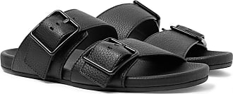 Lanvin Full-grain Leather Sandals - Black