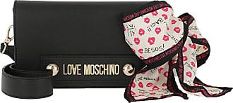 Love Moschino Natural Grain Crossbody Bag Nero