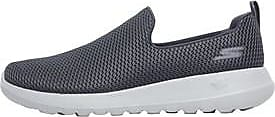 Skechers slip on trainers with padded heel cup for stay-put fit and walking comfort