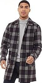 Jack & Jones mid length checked jacket