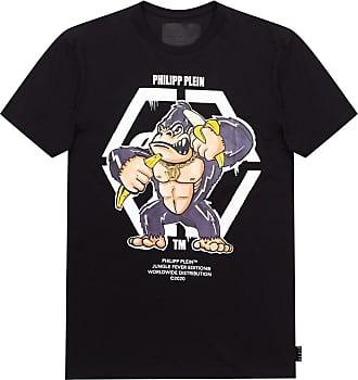 Philipp Plein Printed T-shirt Mens Black