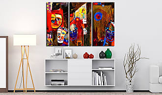 Artgeist home24 Tableau déco Abstract Carnival