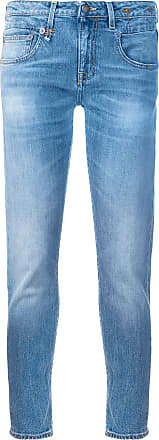 R13 skinny cropped jeans - Blue