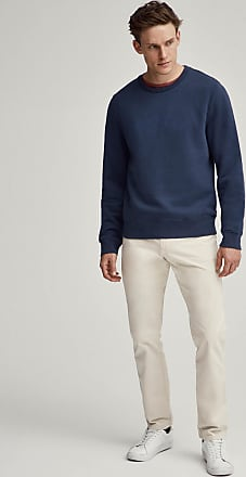 Hackett Mens Classic Logo Detail Cotton Blend Crew Neck Sweater | XS | Navy