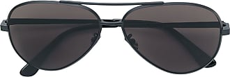 Saint Laurent Eyewear Óculos de sol aviador - Preto