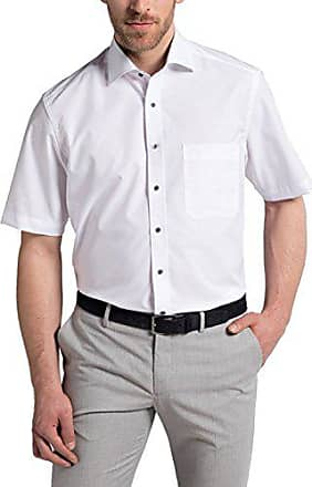 f83678c24a1f Eterna Herren Hemd Kurzarm Modern Fit 8500 00 C14K Weiß ...