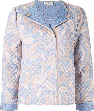 We Are Kindred Sorrento quilted biker jacket - Blue