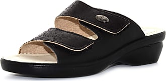 Valleverde shoes woman slippers 25312 BLACK size 36