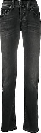 True Religion Calça jeans reta - Preto