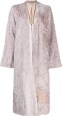 Forte_Forte draped cardi-coat - PINK