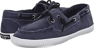 Sperry Top-Sider Sayel Away Washed (Navy) Womens Moccasin Shoes