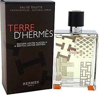 Hermès Hermes Terre H Bottle Limited Edition EDT Spray for Men, 3.3 Ounce