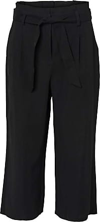 Vero Moda Womens Vmemily Culotte Pant Noos Trouser, Black, 40