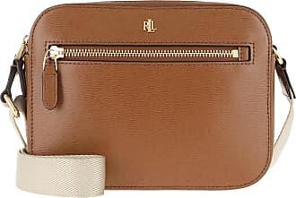 Lauren Ralph Lauren Cross Body Bags - Hayes Crossbody Bag Saffiano Lauren Tan - brown - Cross Body Bags for ladies