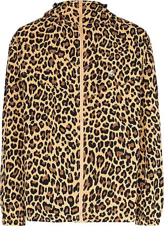 Gramicci Jaqueta com estampa leopardo - Marrom