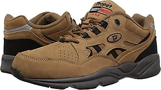 Propét Stability Walker Medicare/HCPCS Code = A5500 Diabetic Shoe (Chocolate/Brown Nubuck) Mens Walking Shoes