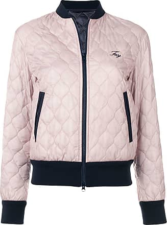 Fay quilted bomber jacket - Blue