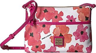 Dooney & Bourke Bloom Ginger Crossbody (Red/Fuchsia Trim) Handbags