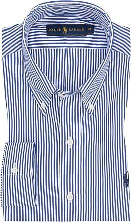 Polo Ralph Lauren Gestreiftes Oberhemd, Custom Fit von Polo Ralph Lauren in Weiss für Herren