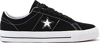 Converse Schwarz weiß ein Stern pro Schuhe - us 7.5 - eu 40.5