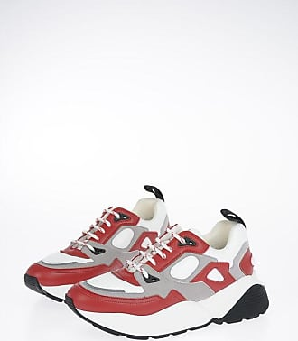 Stella McCartney Faux Leather Printed Sneakers size 40