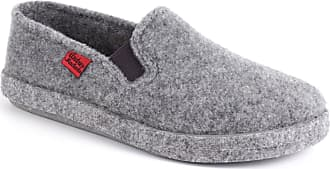 Andres Machado Closed-Toe Grey Alpine Felt Slippers - Summer and Winter - Unisex, Size UK 13.5 / EU 49