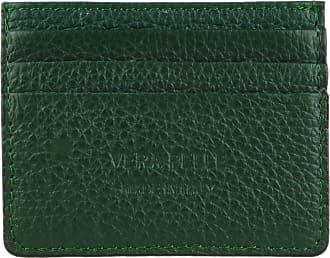 Girly HandBags Girly HandBags Plain Genuine Leather Card Holder - Green