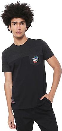 Ecko Camiseta Ecko Pica-pau Grafite/Preta