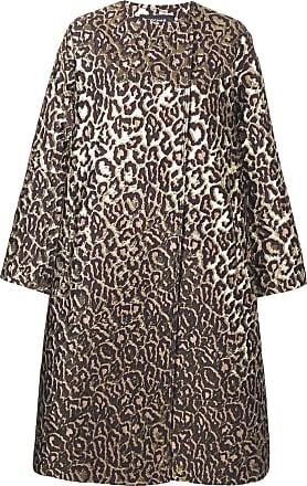 Rochas classic leopard print coat - Neutro