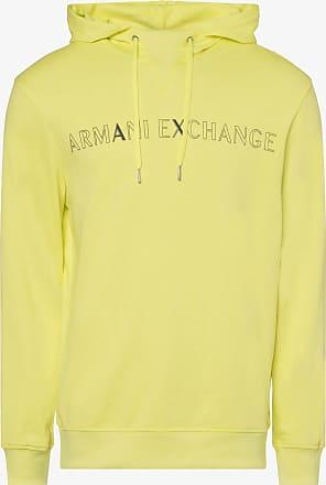A|X Armani Exchange Herren Sweatshirt gelb