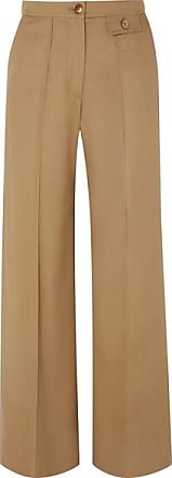 See By Chloé City Twill Wide-leg Pants - Sand
