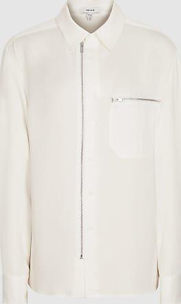 Reiss Caro - Utility Shirt in Ivory, Womens, Size 10
