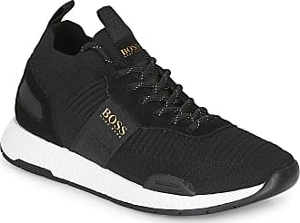 BOSS Mens Titanium_Runn_knst Sneaker, Dark Blue407, 6 UK