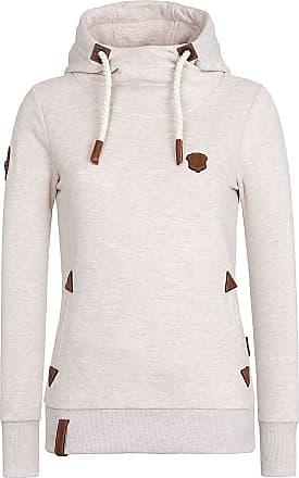 Naketano Sweatshirt Mandy bruin pink oudroze