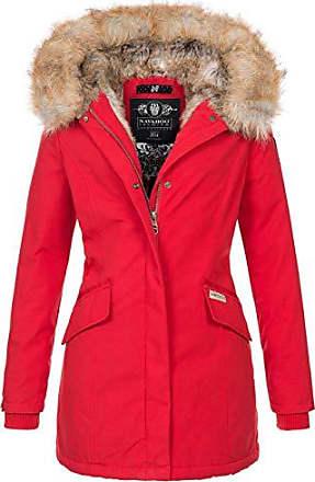 2331e3a14b3618 Navahoo Damen Winter Jacke Parka Mantel Winterjacke warm Kunstfell Premium  B669 [B669-Christa-
