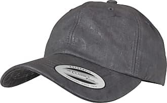 Yupoong Flexfit Low Profile Distressed Coated Cap - Grey, Black, Dark Taupe