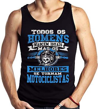 Dragon Store Camiseta Regata Todos Homens Motociclista Moto Motoqueiro B Sem Manga