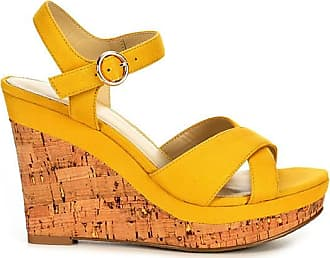 Xappeal Womens Kara Wedge Heel Sandals