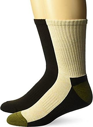 64afc8729 Fruit Of The Loom Mens Full Cushion Low Cut Sock Sockshosiery,khaki  marl/brown