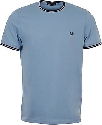 c183f9abfbb Fred Perry Twin Tipped T Shirt Sky